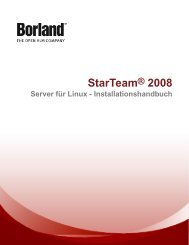 StarTeam® 2008 - Borland Technical Publications