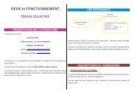 FICHEDE FONCTIONNEMENT - Noisiel