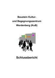 Schlussbericht - Region Werdenberg