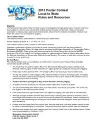 2013 Poster Contest Rules and Resources - Michigan Association of ...
