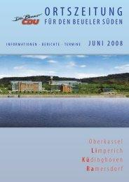 Zeitschrift als pdf-Datei - CDU-Kreisverband Bonn