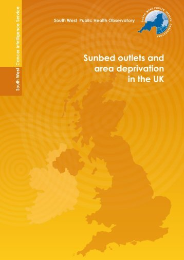 Sunbed outlets in the UK - Bolton's Health Matters