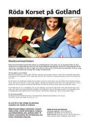 Röda Korset på Gotland nr 4 2012