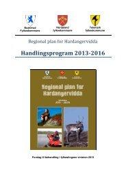 Handlingsprogram 2013-2016 - Hordaland fylkeskommune