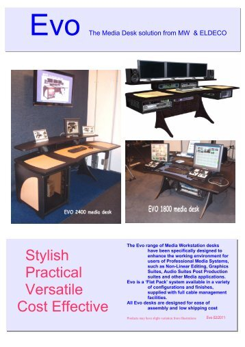 Stylish Practical Versatile Cost Effective - Eldeco + EDP