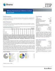 ITIP Fund Fact Sheet - ETF Constituent Lists and Data