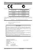 HP Series Operating Manual - Jands - Page 2