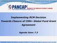Implementing RCM Decision Towards Closure of CRN+ Global ...
