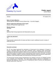 Business Rate Pooling Agreement with Warwickshire Councils PDF ...