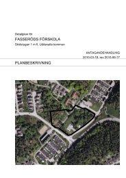 Detaljplan för - Uddevalla kommun