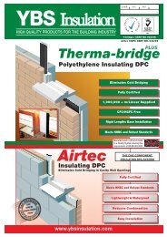 YBS 176 Therma Bridge Data Sheet:Layout 2 - Yorkshire Building ...