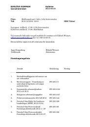2013-04-29 kl. 18:00 OBS! - Burlövs kommun