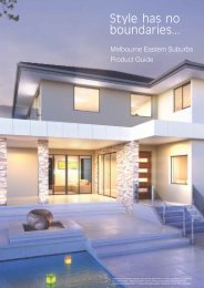 to download our product guide - G.J. Gardner Homes