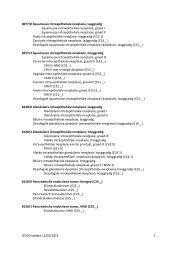 Update ICD-O-3 november 2011