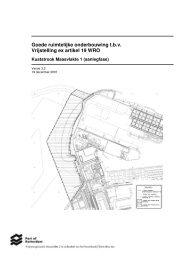 Artikel 19 Goede Ruimtelijke Onderbouwing - Maasvlakte 2
