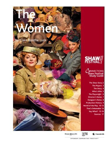 The Women.pub - Shaw Festival Theatre