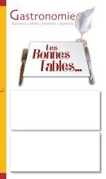 Bonnes tables, recette, conseils - JDS.fr