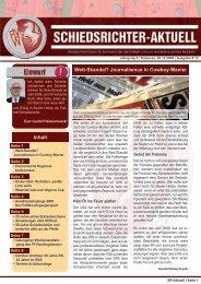 SR-Aktuell 12/2009 - Fußball und Leichtathletik Verband Westfalen eV