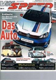 APR Reifnitz GTI in der VW Speed - WOLF-POWER