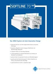Softline70_MD_Datenblatt - Fenster