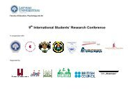 9 International Students' Research Conference