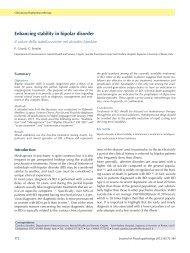 full text (pdf document) - Journal of Psychopathology