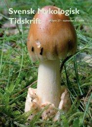 SMT 3-2006 - Sveriges Mykologiska Förening