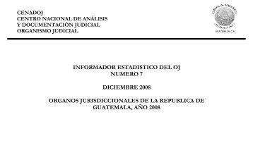 CENADOJ - Organismo Judicial