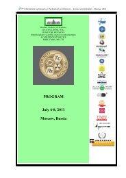 ROSATOM - 7th International Symposium on Technetium and ...