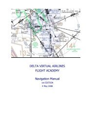 DELTA VIRTUAL AIRLINES FLIGHT ACADEMY Navigation Manual