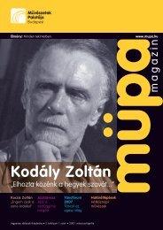 Kodály Zoltán - Művészetek Palotája