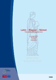 XVI-XVII. századi latin-magyar-német paleográfiai szöveggyűjtemény