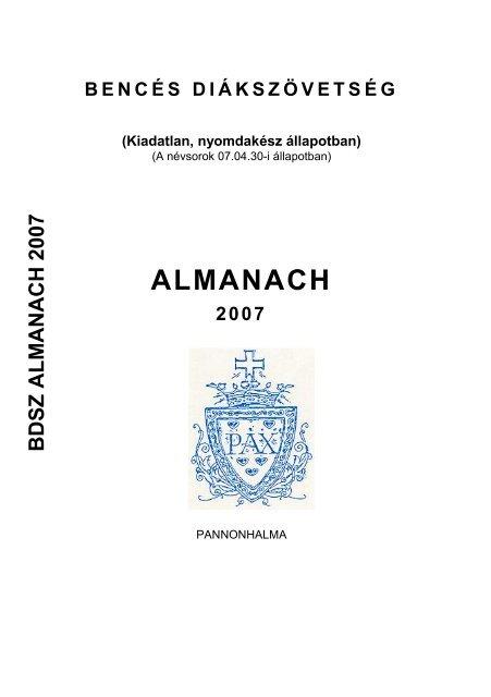fogyni gazdák almanach)