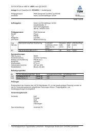 GUTACHTEN zur ABE Nr. 48291 nach §22 StVZO ... - A1talk.de
