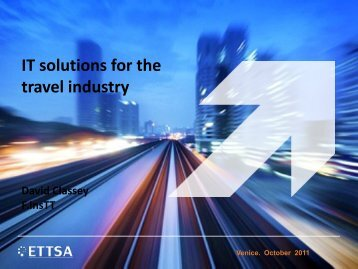 David Classey - Data Interchange for Air-Rail Managers