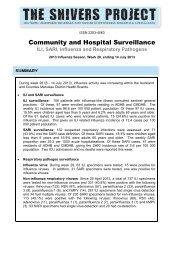 Report for week ending 14 July 2013 - Environmental Science ...