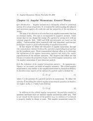 Chapter 11. Angular Momentum: General Theory