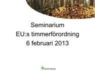 Artikel 2.1 och 2.2 Genomförandeförordning - Skogsstyrelsen