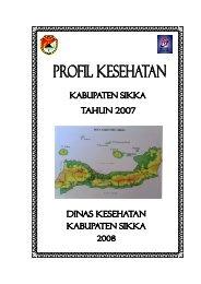 kab sikka 2007.pdf - Departemen Kesehatan Republik Indonesia