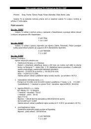 Úlohy z vedenia TU zo dňa 30. apríla 2007 - TUKE