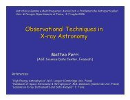 Observational Techniques in X-ray Astronomy - GLAST Gamma-Ray ...