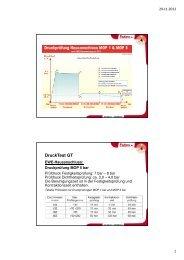 Druckprüfungen nach EWE Bauanweisung von 2012 - Egeplast