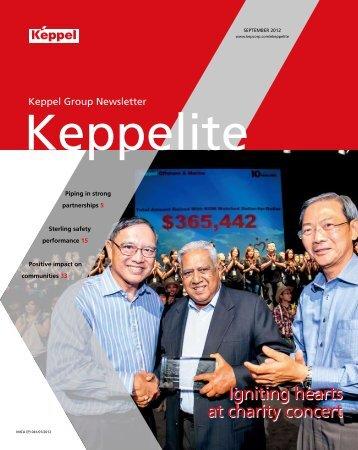 September 2012 - Keppel Corporation