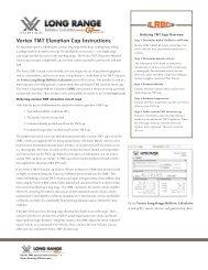Vortex TMT Elevation Cap Instructions - Vortex Optics