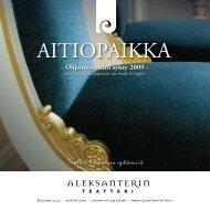 AITIOPAIKKA - Aleksanterin teatteri