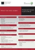 Professional Corporate Coach Certification Program ... - Progress-U - Page 5