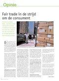 Ontwikkeling, de essentie van Fair Trade - Oxfam-Solidariteit - Page 6