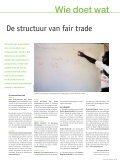 Ontwikkeling, de essentie van Fair Trade - Oxfam-Solidariteit - Page 7