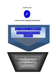 2013-guia QUIMICA - Facultad de Ciencias Naturales