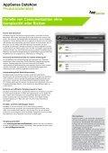 AppSense DataNow Produktdatenblatt Einfacher, sicherer ... - Page 2